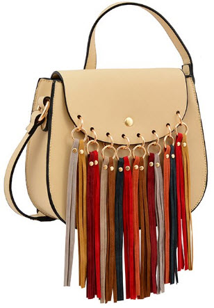 Mellow World Delilah Hb17253 Cross Body Bag Beige One Size