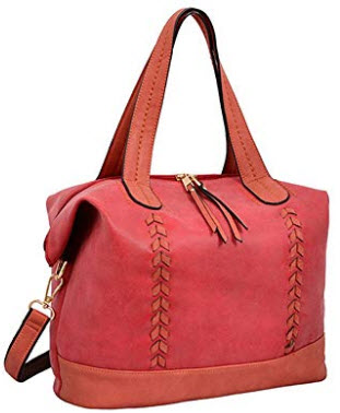 Mellow World Sonya Tb17189 Shoulder Bag, Red, One Size