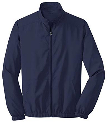 Joe's USA Men's Lightweight Jacket, true navy
