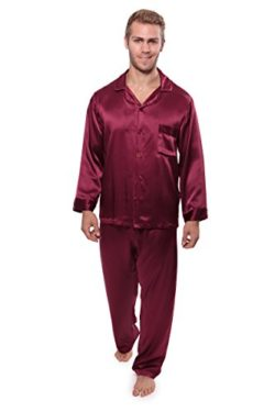Men's 100% Silk Pajama Set – Luxury Nightwear Pajamas by TexereSilk (Milaroma)