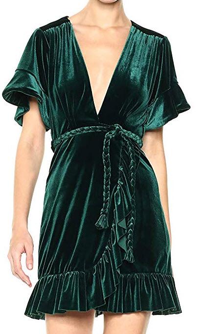 Misa Women's Desma Dress green