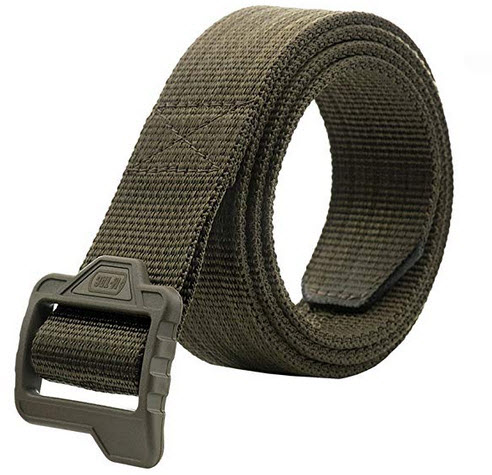 M-Tac Tactical Belt Double Duty Mens Military Police Nylon Web Plastic Buckle olive