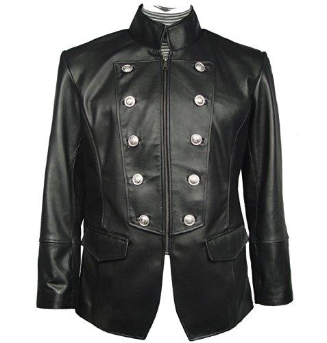 Nettailor Mens 1095 FOUR Season Wearable Leather Fancy Casual Blazer