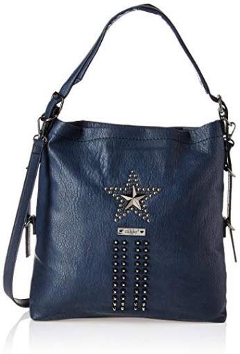 Nikky Women's Tote Navy Handbag, Multifunctional Detachable Strap Shoulder Bag One Size navy