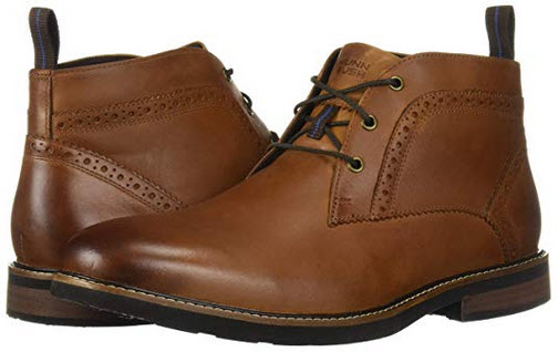 Nunn Bush Men's Ozark Plain Toe Classic Chukka Boot with Comfortable KORE Lightweight Walk ...