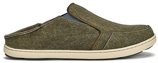 OLUKAI Men's Nohea Lole Slip On Shoes caper charcoal