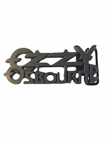 Ozzy Osbourne Rock Band Metal Enamel Belt Buckle by New Horizons Production