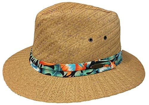 Panama Jack Men's Woven Toyo Panama Hat