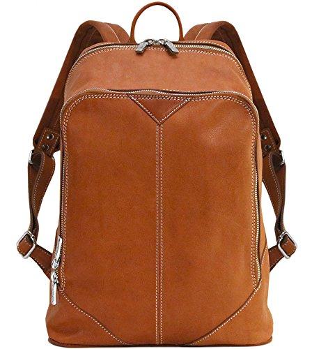Parma Full Grain Leather Backpack Knapsack