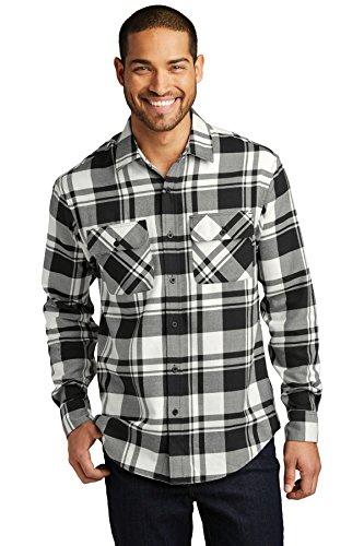 Port Authority Plaid Flannel Shirt.