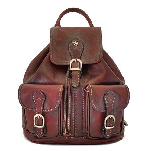 Pratesi Caporalino leather backpack – B345 Bruce