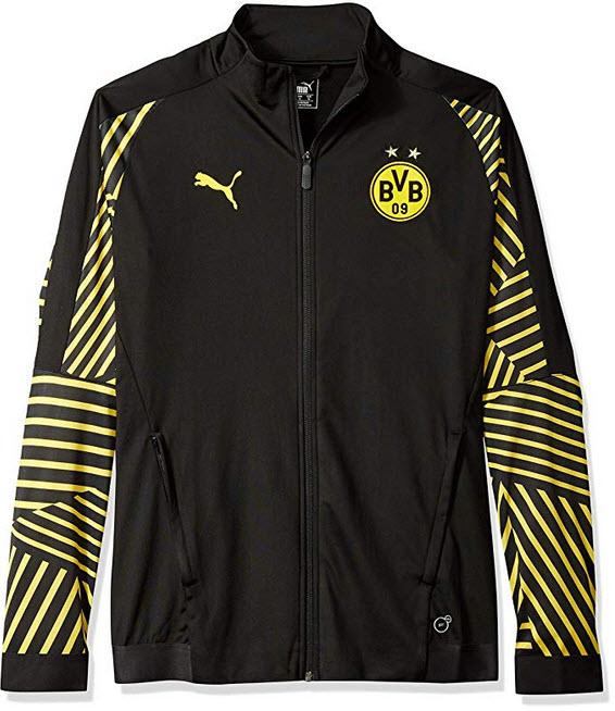 PUMA Men's BVB Stadium Jacket Without Sponsor Logo black