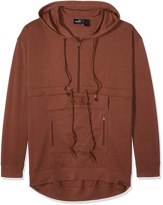 PUMA Men's Fenty Sweatsuit Pullover friar brown