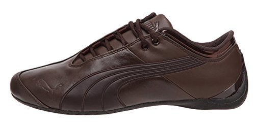 Puma Mens Future Cat M1 Lux Leather Fashion Sneaker Shoe