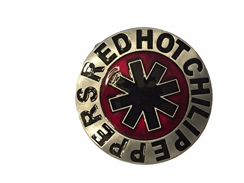 Red Hot Chili Peppers Logo Metal Enamel Belt Buckle by New Horizons Production