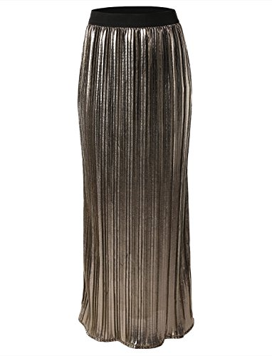 Rue 21 Women's Pleated Maxi Skirt by 7 Encounter