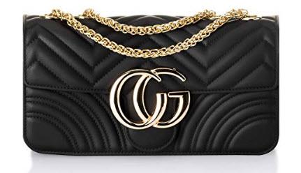 RuiWen Women Flap Bag Chain Crossbody Shoulder Bags Purse Jelly Candy Bag Fashion Classic Quilte ...