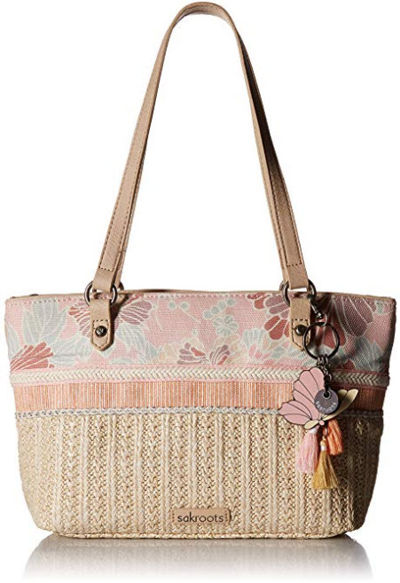 Sakroots Ellis Straw Small Satchel