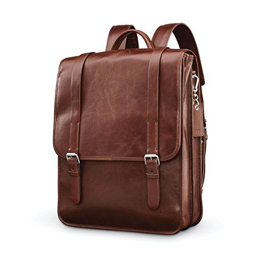 Samsonite Mens Leather 1910 Heritage Backpack