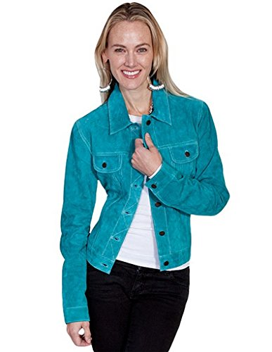 Scully Women's Suede Denim-Style Jacket – L107-125