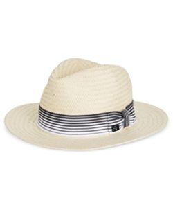 Sean John Men's Grosgrain Panama Hat