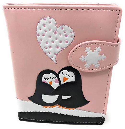 Shagwear Penguin Love Wallet Small Pink