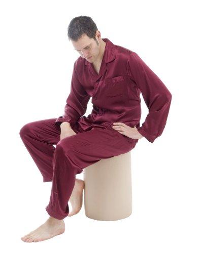 Silk classical pyjamas by The House of Silk