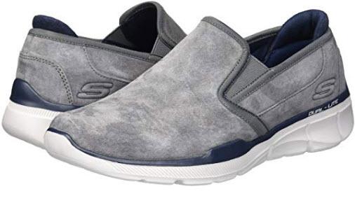 Skechers Men's Equalizer 3.0 Substic Loafer charcoal