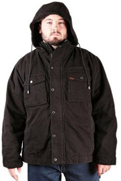 Smith's Workwear Men's Sherpa Lined Duck Canvas Work Jacket .