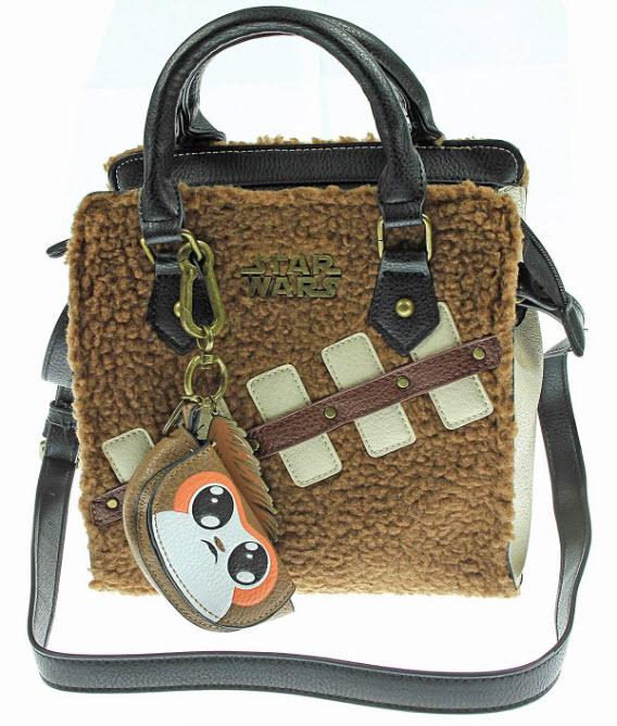 Star Wars The Last Jedi Episode 8 Chewie Handbag with Mini Porg Coin Purse