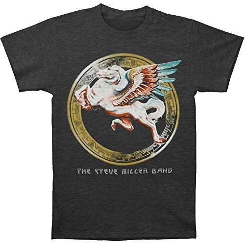 Steve Miller Band Men's Colorful Pegasus T-shirt Grey