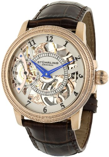 Stuhrling Original Men's 228.33452 Symphony Saturnalia Brumalia Analog Mechanical Hand Win ...