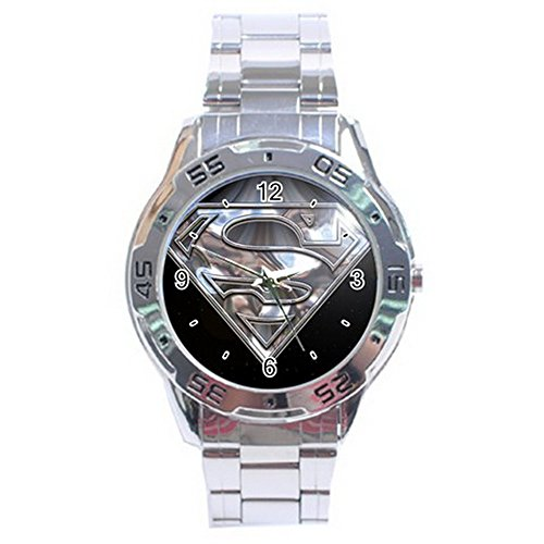 Superman Man of Steel Logo Stainless Steel Analogue Men Watch Special Edition