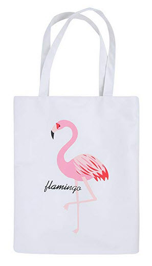 Sweet Devil Flamingo Shoulder Beach Bag Travel Handbag