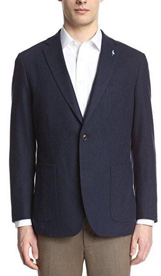 Tailorbyrd Men's Herringbone Italian Double Face Sportcoat.