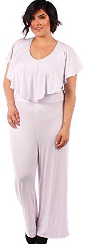 Temptation Clothing Women's Plus Size Jumpsuit Three Colors