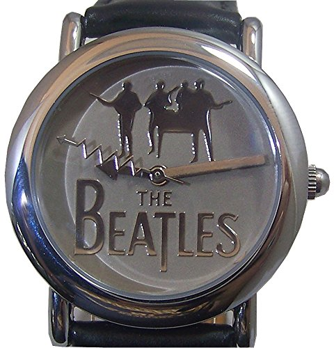 The Beatles Logo Watch in Wooden Guitar display case B00110 by Apple Corps