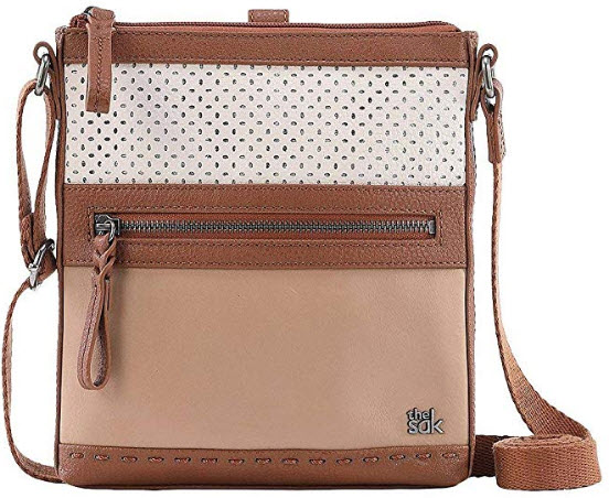 The Sak The Pax Swing Pack, stone barley perforated