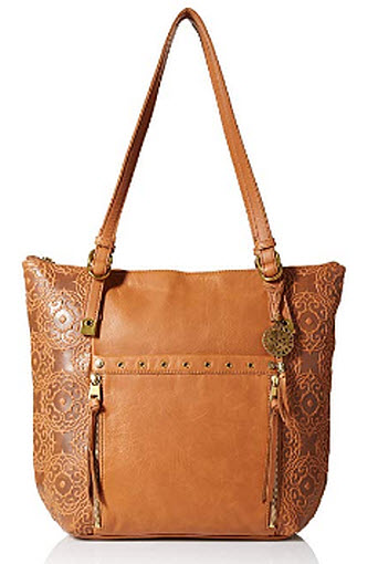 The Sak Womens Ojai Tote The Sak Collective, tobacco souk emboss