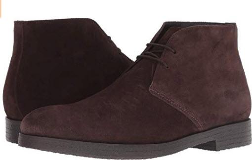 To Boot New York Men's Boston 2 Eye Chukka Boots dark brown suede