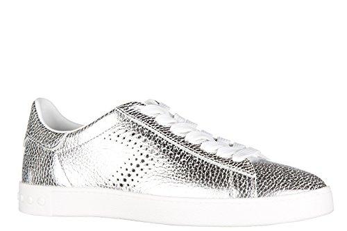 Tod's Women's Shoes Leather Trainers Sneakers cassetta Leggera 12a allacciata SI