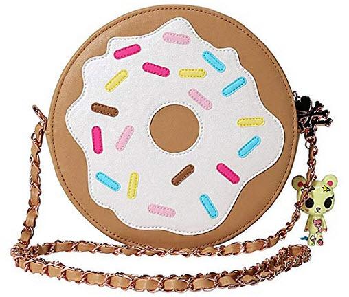 Tokidoki Sweet Gift Collection Donutella Donut Crossbody Bag
