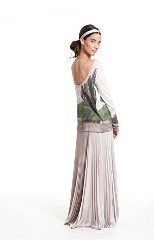 Tracy Reese Pleated Maxi Skirt