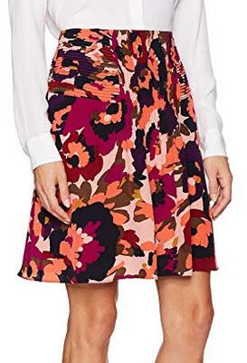 Trina Turk Women's Diamond MacArthur Park Floral Printed Skirt multi