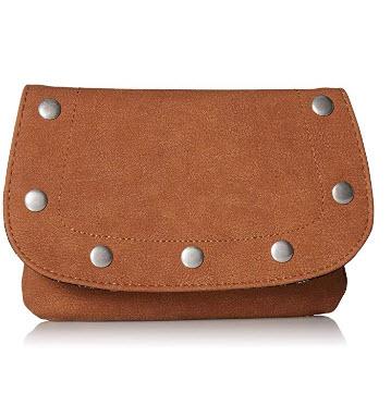 Twig & Arrow Studs Convertible Shoulder/Belt Bag, cognac