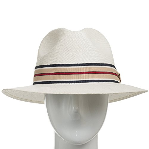 Ultrafino Trilby Straw Fedora Panama Hat ALL SIZES
