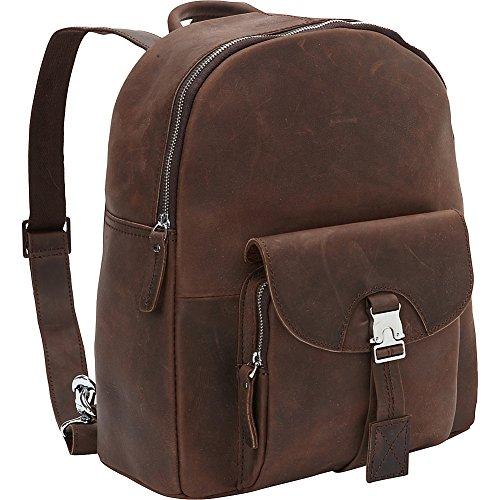 Vagabond Traveler Full Grain Cowhide Leather Backpack