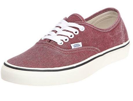 Vans U Authentic, Unisex Adults' Low-Top red