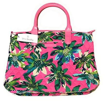Vera Bradley Casual Satchel Tropical Paradise