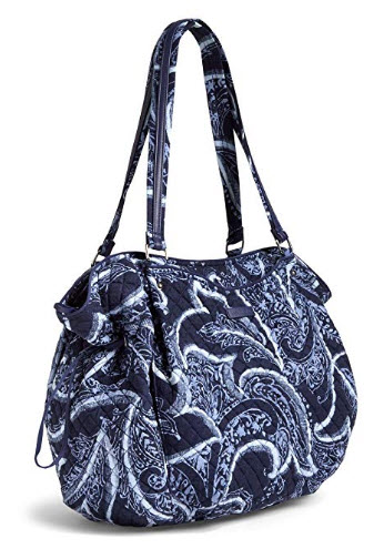 Vera Bradley Iconic Glenna Tote, Signature Cotton, indio